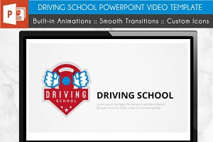 Driving School Power Point Template