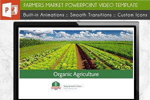 Farmers Market PowerPoint Template