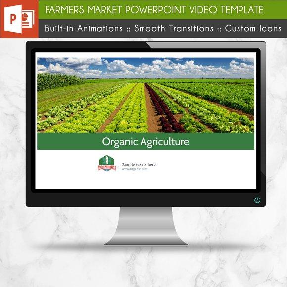 Farmers Market Powerpoint Template Presentation Templates
