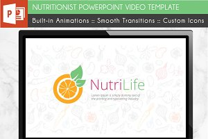 Nutritionist Health Video Template
