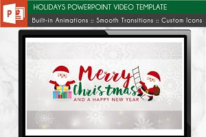 Holidays PowerPoint Video Template