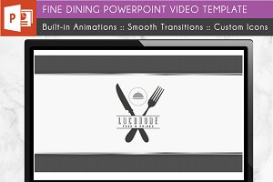 Restaurant Power Point Video