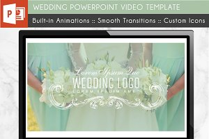 Wedding PowerPoint Video Template
