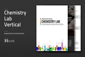 Chemistry Lab Vertical Presentation