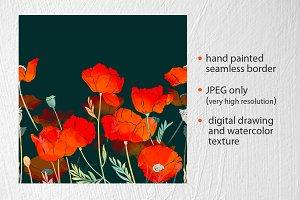 imprints bright poppies
