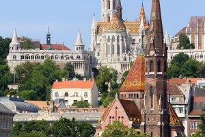 Churches of Budapest