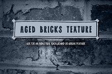 Aged Bricks Texture Background