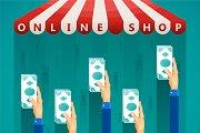 Online shop sales