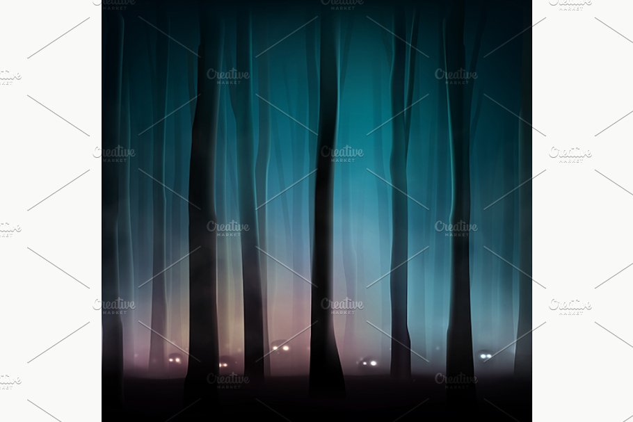 Monsters in Forest in Illustrations - product preview 8