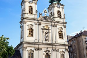 Saint Anne Church in Budapest