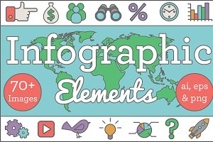 SALE! Outline Infographic Elements