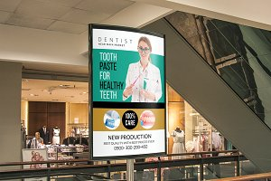 Medical Dental Care Bus Stop Ad