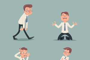 Businessman Suffer