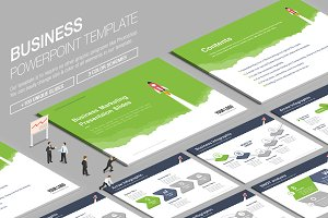 Business Powerpoint Template vol.8