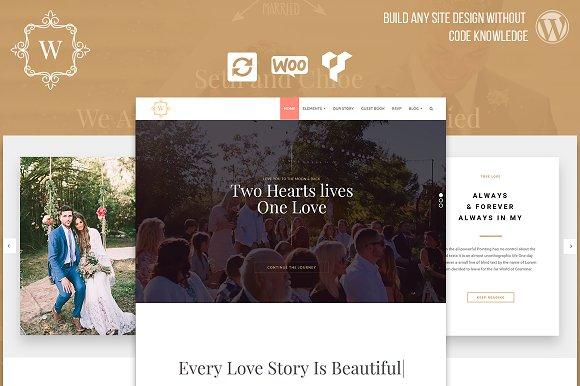 Wedding Events WordPress Theme
