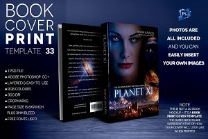 Book Cover Print Template 33