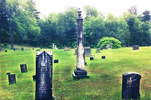 Cemetery In The Mountains