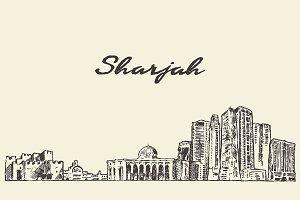 Sharjah skyline, UAE