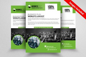Business Flyer Psd Template