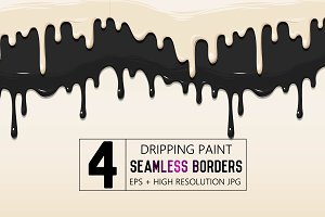 Seamless borders collection
