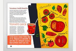Tomato Benefits Leaflet