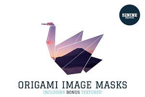 Origami Image Masks + Bonus!