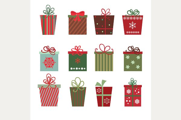 Christmas Gifts (vector