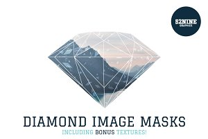 Diamond Image Masks + Bonus!