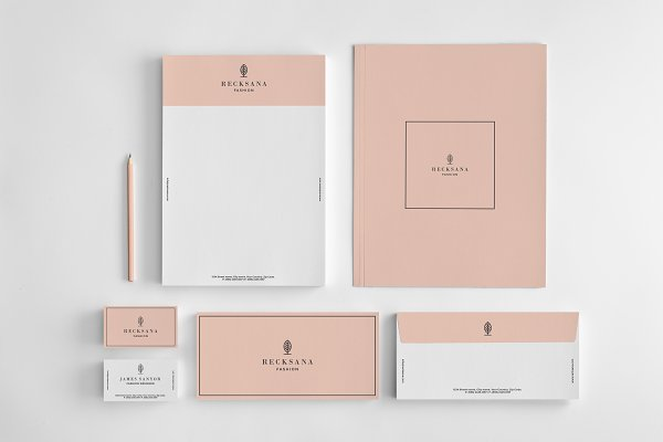 Stylish stationery set