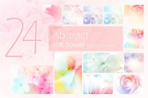 colorful flower soft background
