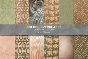 Golden Everglades Crocodile Patterns