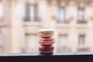 Macaron on Window - Paris