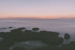 Minimal Seascape for Backgrounds