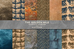 The Golden Nile Patterns & Textures
