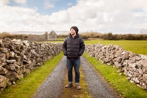 Man in Ireland