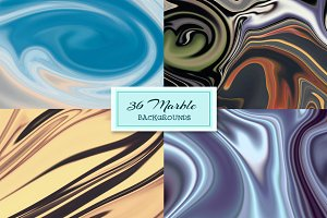 36 Abstract Marble Backgrounds