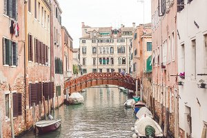 Canal View - Venice, Italy