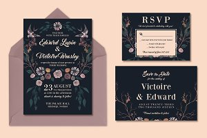 Rich, Dark & Magical Wedding Suite