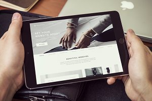 iPad Screen Mockups v1