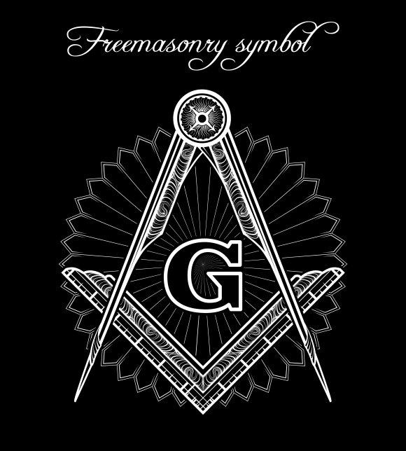 Mystical Illuminati Brotherhood Sign Graphics Creative Market