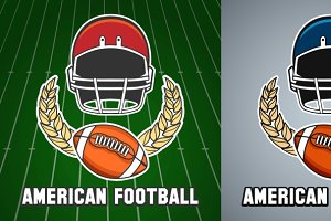American football league emblem
