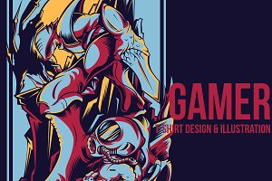Gamer Illustration