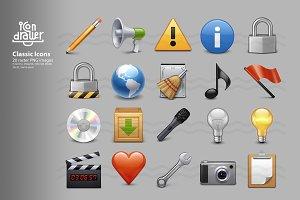 Classic Icons (set 2)