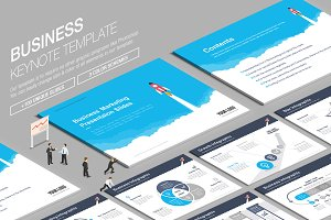 Business Keynote Template vol.8