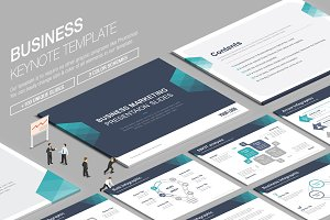 Business Keynote Template vol.7