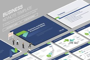 Business Keynote Template vol.6