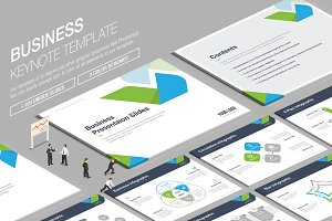 Business Keynote Template vol.5