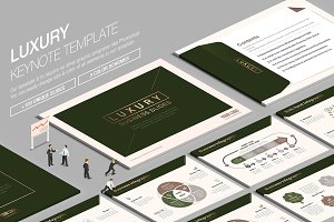Luxury Keynote Template vol.2