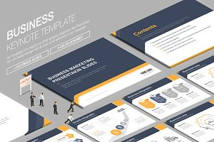 Business Keynote Template vol.3