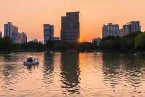 Lumpini Park, Bangkok, Thailand